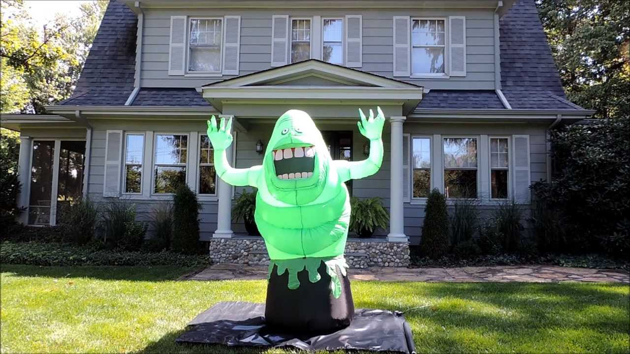 Halloween Inflatable Ghostbusters Slimer