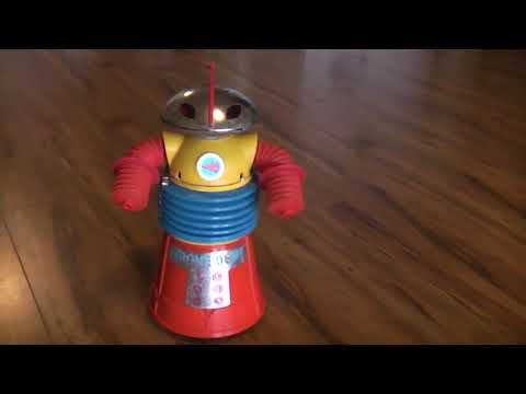 1960's Krome Dome robot