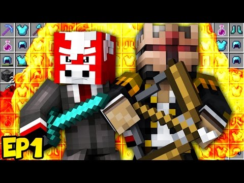 OUR FIRST OP RAID OF THE SEASON! ★ (Minecraft Raiding EP1)
