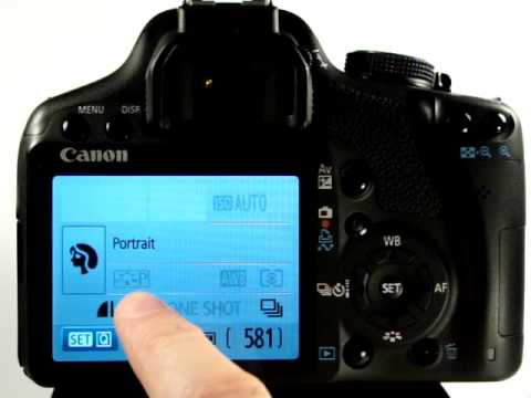 Canon eos 500d tutorial video 6 portrait mode youtube.