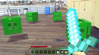 Realistic Minecraft in Real Life - IRL Animation - Top 5 Best Epizode - Enderman encounter