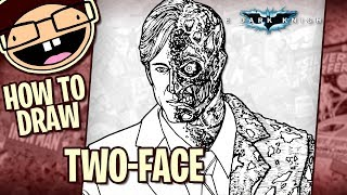 How to Draw TWO-FACE (The Dark Knight) | Narrated Easy Step-by-Step Tutorial