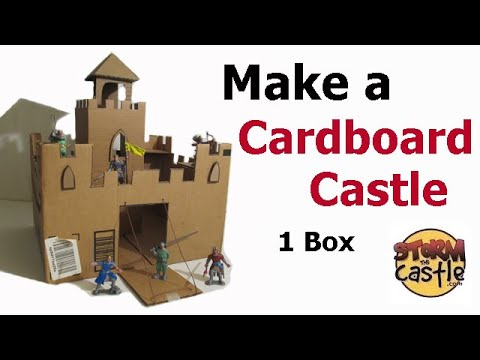 how-to-make-a-cardboard-box-castle-}-1-box-is-all-you-need