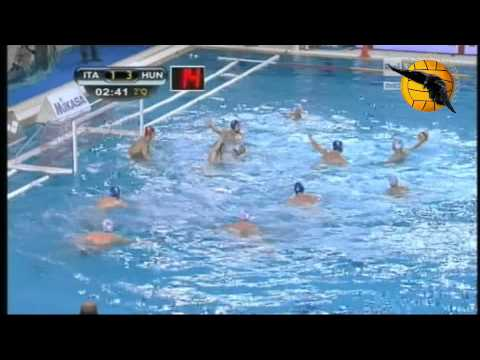 Italy 7 Hungary 8 World League 2013 27.3.13 water polo