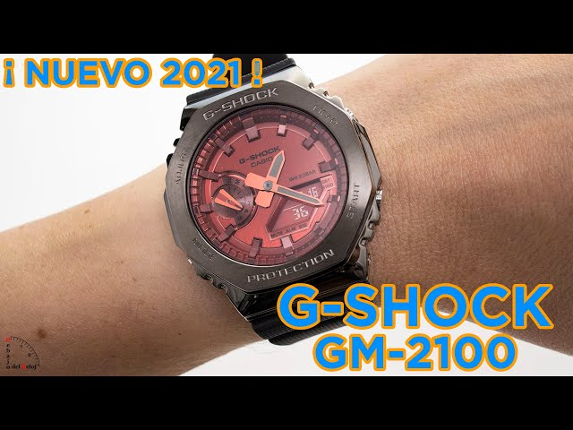G-Shock GM-2100 (CasiOak Metálicos) en la muñeca