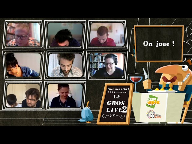Le gros live [kosmopoli:t] 2 !