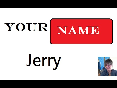 Jerry 🎥 Name Meaning :1st. Name 🎥