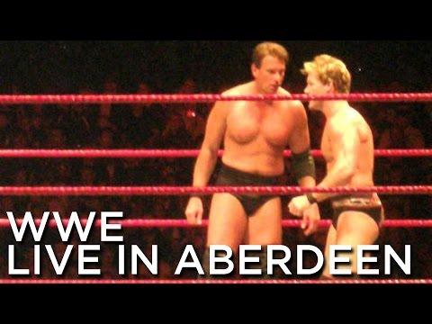 2008-11-15 'WWE RAW' Presents, 'Survivor Series Tour' @ AECC, Aberdeen, UK