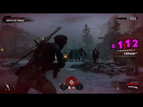 Zombie Army 4 - New DLC Blood Count - Chapter 1: Creatures of the Night - Gold & Z Challenge Complet  