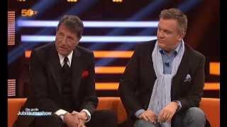 Udo Jürgens & Hape Kerkeling bei der Jubiläumssendung 50 Jahre ZDF 2013
