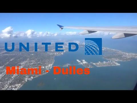 || TRIPREPORT || United Airlines A320 Miami To Washington DC (Dulles Airport) [MIA-IAD]