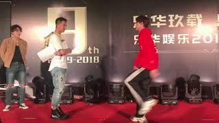 180310 Yuehua Annual Party - Dance battle (UNIQ, YH Boys, YH Next, Hangeng)