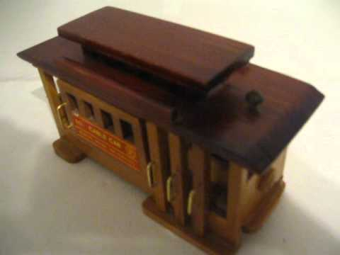 Cable Car Music Box