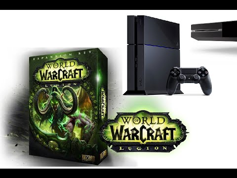 world of warcraft ps4 release date