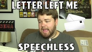 Letter Left Me Speechless - Mail Video