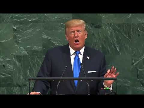 Strong words on human rights: Trump's first address to the UN General Assembly, Sept 19, 2017