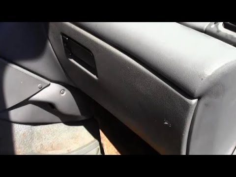 2008 Sebring Fuse Box Location How To Remove Install Glove Box On Car Youtube