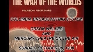 "Orson Welles' ""The War of the Worlds"" radio drama - CBS October 30, 1938 - subtitled"