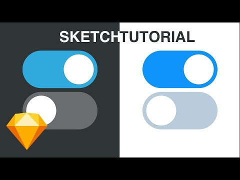 Sketch Tutorial - How To Create a Toggle / Switch Button thumbnail