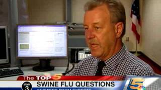 top 5 questions about swine flu
