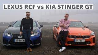 Kia Stinger GT czy Lexus RC F? To skomplikowane!