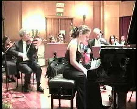Dudana Mazmanishvili plays Mozart - Part 1