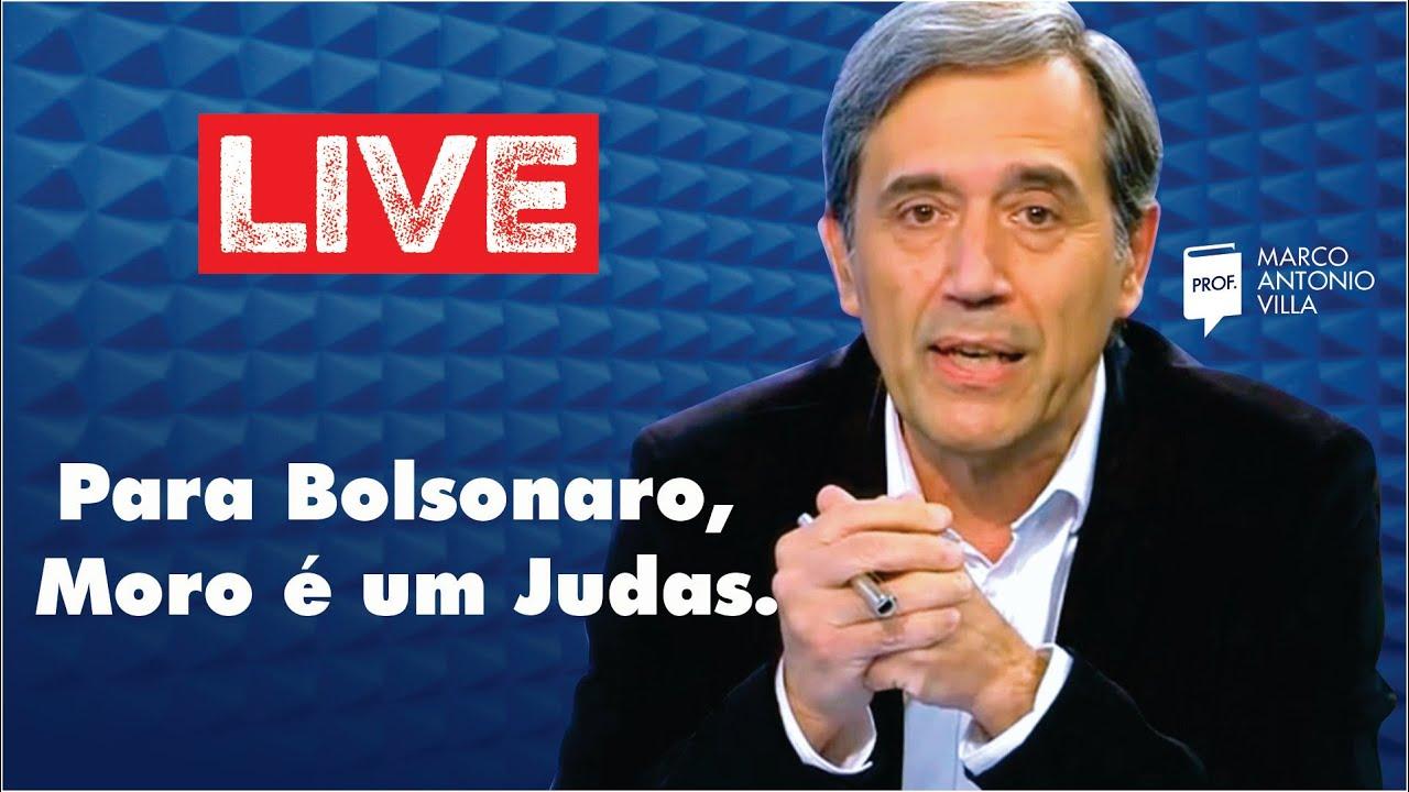 Live Sábado: Para Bolsonaro, Moro é um Judas. 02/05/20