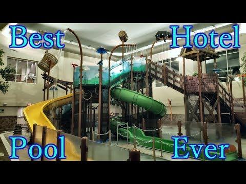 Best Hotel Pool Ever! - Holiday Inn - Gatlinburg Tn