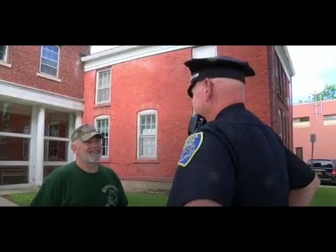 Pat McMahon - Officer Saved by Military Vet - The Good Stuff