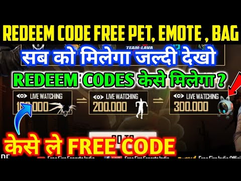 ffic tournament redeem code for emote,bag and pet , today new event free fire ,free fire new event