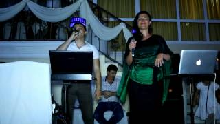 певцы Артур Саркисян и Альбина Аведисова. Попурри. ресторан