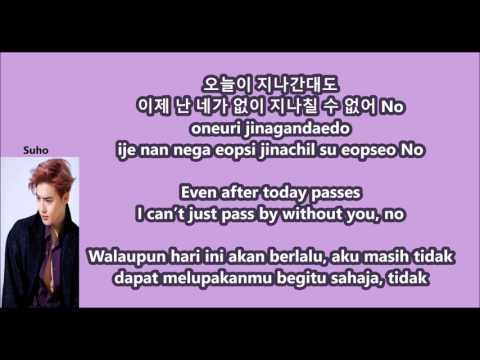 Suho (EXO) - Curtain with Malay | Eng | Han | Rom lyrics