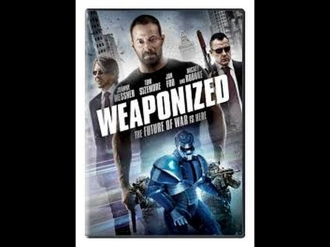 Tom Sizemore, Johnny Messner,WEAPONiZED 2016. Action, Sci-Fi, Thriller,