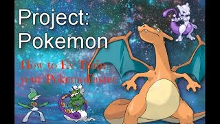Roblox Project Pokemon: How To Ev Train FAST