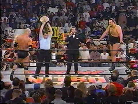 Bill Goldberg (WCW) vs. The Giant (nWo B&W) [Nitro - 23rd No