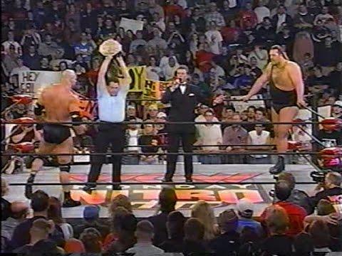 Bill Goldberg (WCW) Vs. The Giant (nWo B&W) [Nitro - 23rd Nov 1998]