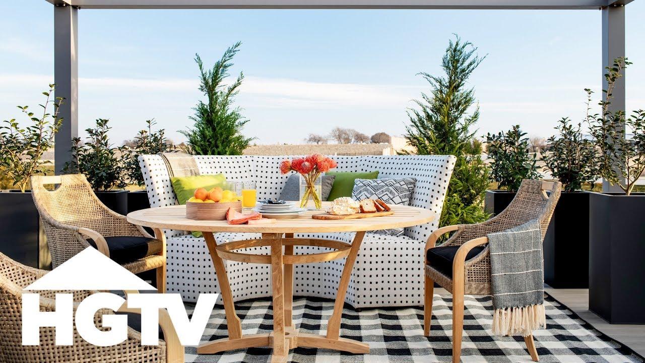 HGTV Smart Home 2019 - Tour the Backyard