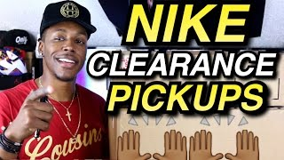 Nike Clearance Pickups/Double Unboxing #AirLieutenantDans