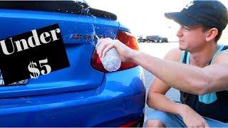 Easily debadging your car