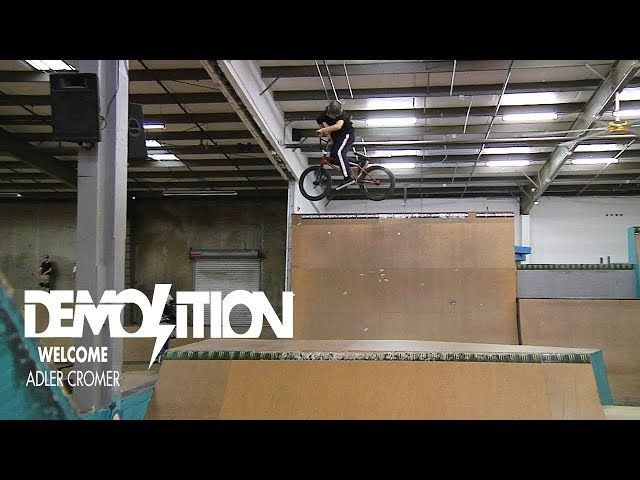 Demolition BMX: Adler Cromer - Welcome to the Flow Team