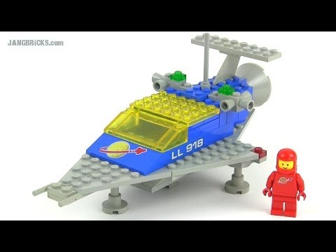 Lego Classic Space 918 One Man Space Ship From 1979 Youtube