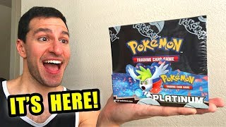*VERY RARE POKEMON BOX!* Opening Pokemon Cards PLATINUM BASE SET Booster Box!