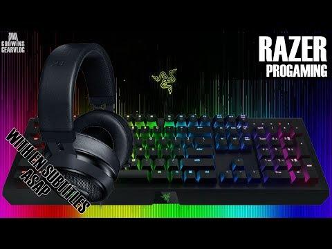 ProGaming - Razer Kraken 7.1 V2 & Razer Blackwidow Chroma - Osobní Dojmy (CZ)