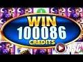 ★BUFFALO MANIA! HUGE WIN!★ SUPER FREE GAMES WONDER 4 BOOST & TOWER Slot Machine Bonus