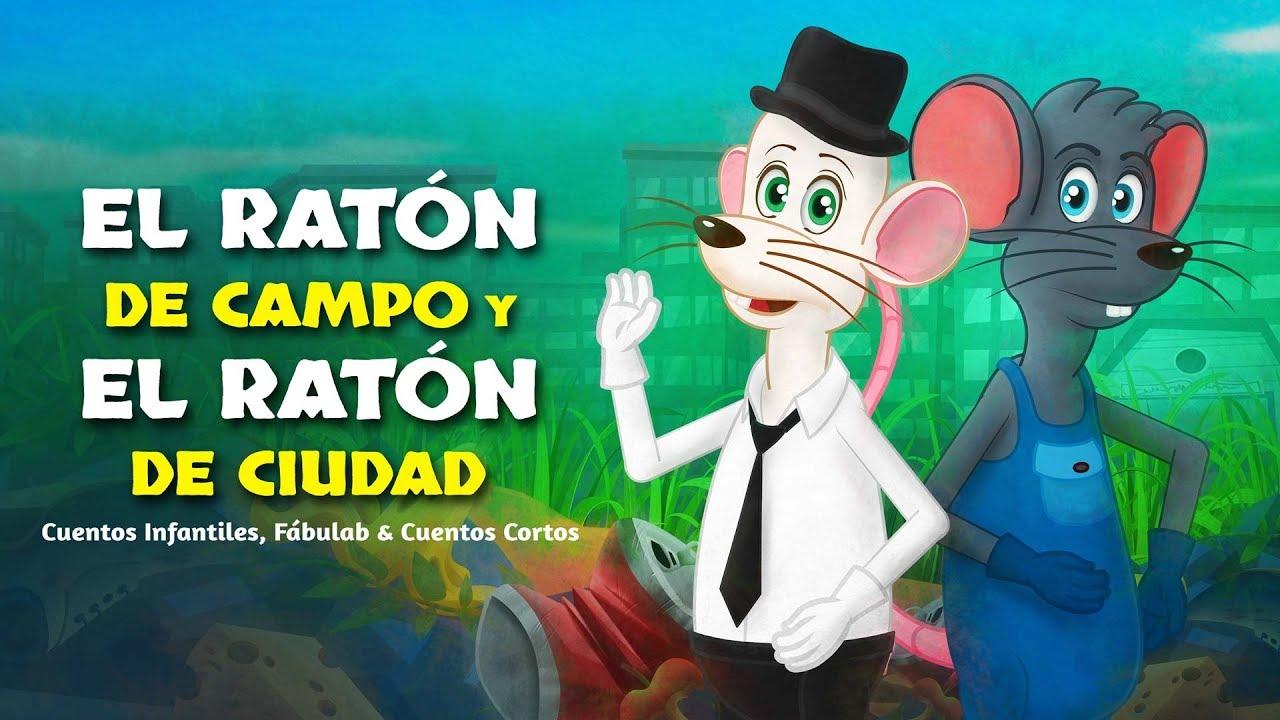El Ratón de Campo y el Ratón de Ciudad fábula | Cuentos infantiles para dormir