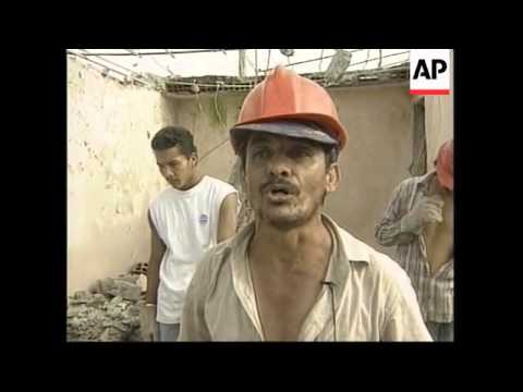 COLOMBIA: ARMENIA: EARTHQUAKE AFTERMATH (2)