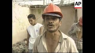 COLOMBIA: ARMENIA: EARTHQUAKE AFTERMATH (2)
