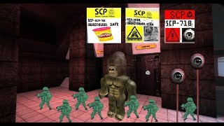 MILITARISTIC PLAY DOH + BIGFOOT + EYEBALL - Roblox SCP 705, SCP 1000 & SCP 718