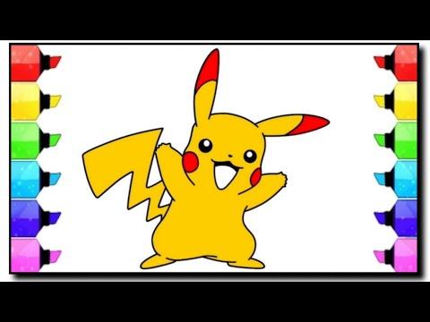 Mewarnai Pokemon Tweety Angry Birds Coloring Book Kartun Lucu