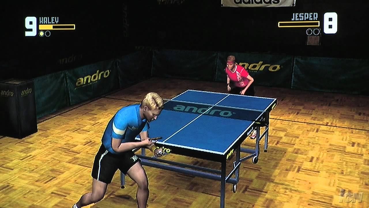 Rockstar Games Presents Table Tennis Nintendo Wii Gameplay Youtube